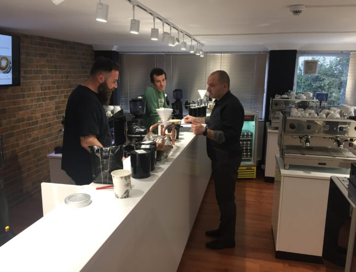 TRAINING BARISTI IN LEVEL 1