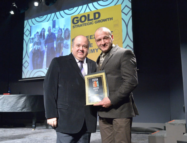 GETTING THE GOLD AWARD IN ESTIA AWARDS 2018
