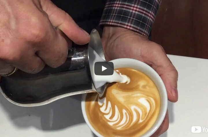 LATTE ART COMPILATION